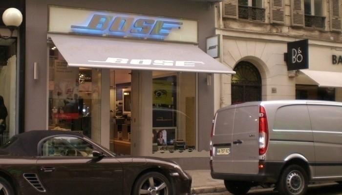 Alain cecchetti l architecte d 39 int rieur l bose store nice - Architecte d interieur nice ...